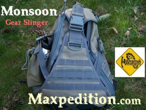 Maxpedition Monsoon Gearslinger Bag Review