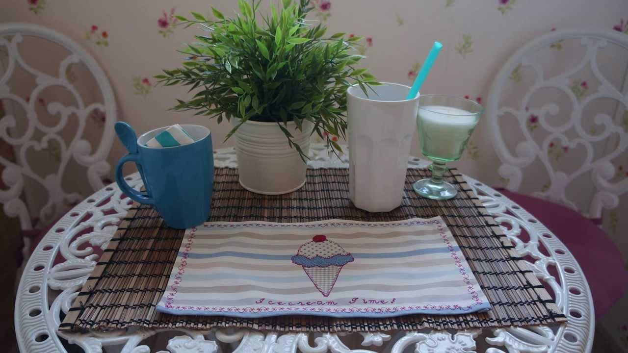 Como hacer manteles mantelitos patchwork para caf merienda comida youtube - Ideas para hacer manteles ...