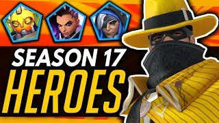 Overwatch | BEST and WORST Heroes For Season 17 + Future Meta!