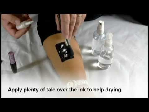 Inkatoos ink tattoo tutorial youtube for Standard ink tattoo company