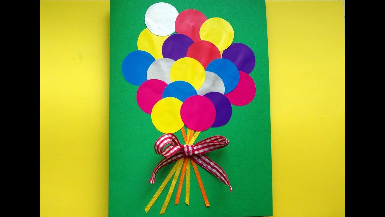 Поделки для дня рождения своими руками для детей 33