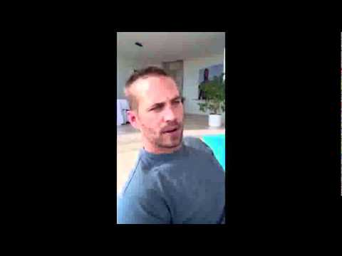 Paul Walker Discusses Life Before Fame