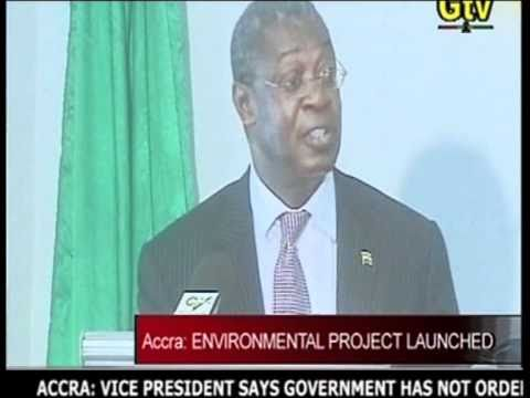 GTV News (Ghana) - Accra- Environmental Project Launched - May 2010