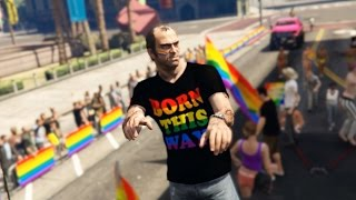 LOS SANTOS PRIDE ♡  (GTA 5 mod for PC)