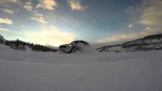 First snow, first fun ! Mini Countryman S All4 - W