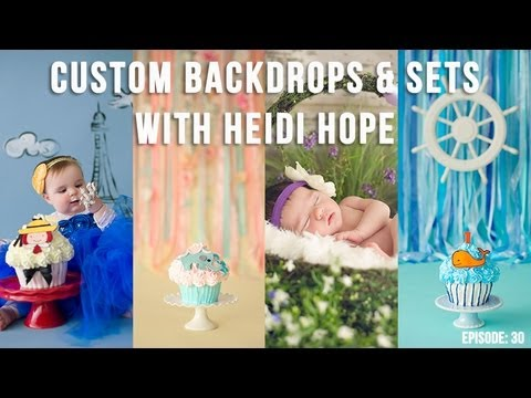 How To Make Custom Photography Backdrops And Sets With