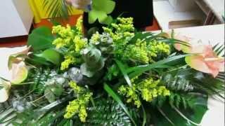 Preparar Palma flores y plantas funeral Zaragoza www.elrincondelasflores.com