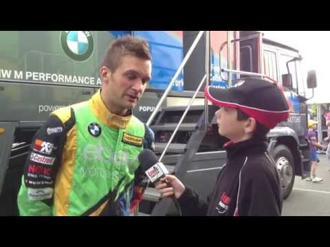 BTCC Silverstone 2014 - Colin Turkington eBay Motors Racing