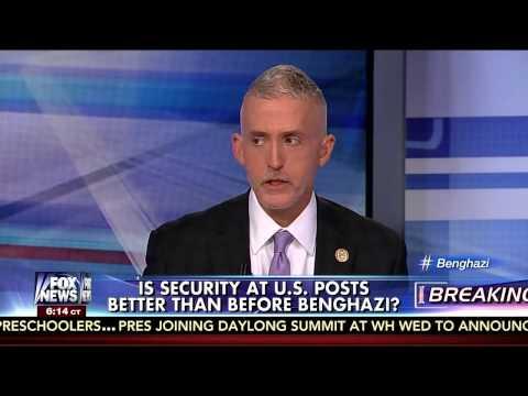 Chairman Gowdy Talks Second Benghazi Hearing with Greta Van Susteren