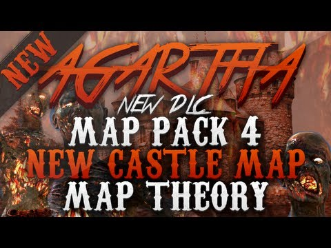 Black Ops 2 NEW Castle Zombies Map in Agartha - DLC Map Pack 4 (BO2 DLC 4 THEORY)