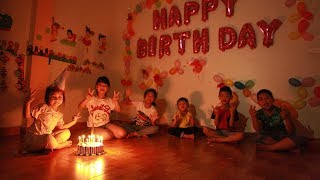 Kids Go To School | Day Birthday Of Chuns My Sister Buy Chocolate Ice Cream Birthday Cake