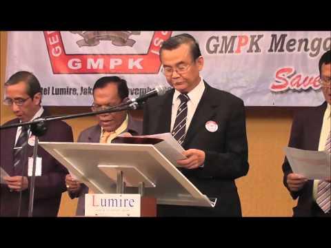 Deklarasi GMPK 25 November 2013