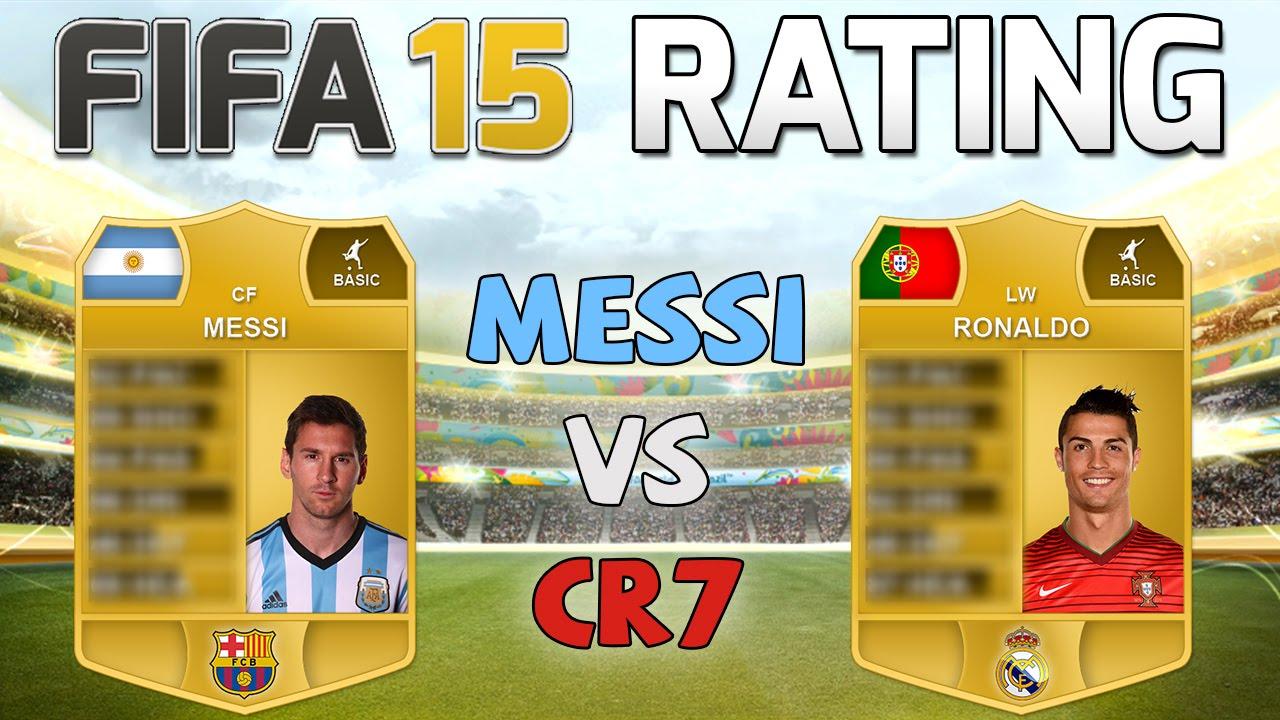 Fifa 15 rating messi vs ronaldo fifa 15 player rating prediction