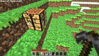 Superego 001 - Minecraft Tutorial - Surviving the first night in a house - Part 1