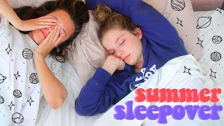Summer Sleepover Morning Routine | Hannah Meloche