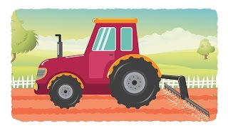 tractor for kids | tractor videos for children | kids channel | learn vehicles