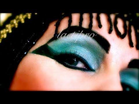 halloween maquillage cleopatre elisabeth taylor youtube. Black Bedroom Furniture Sets. Home Design Ideas