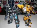 Custom Transformers Bumblebee Jazz Megatron Stop Motion Film