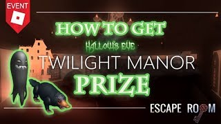[EVENT] HOW TO GET ALL PRIZE ! - HALLOW'S EVE - ESCAPE ROOM GUIDE