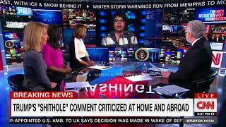 Clown News Network's April Ryan Urges Orcs To Book Flights To Sweet Home Shitholes