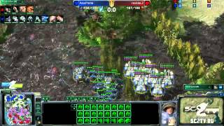 RoX.KIS.LiveZerG vs MarineKingPrime Game 1: Ritmix RSL II Group D - [Starcraft II]
