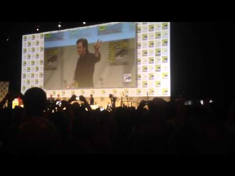 Robert Downey Jr., Chris Evans, Chris Hemsworth & More On Stage at Comic Con