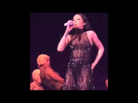 RIHANNA and DRAKE Get Extra Close During ANTI TOUR MIAMI (VIDEOS)
