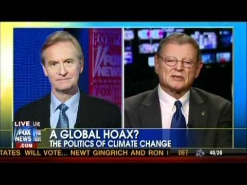 US Senator Says Global Warming a Political Hoax