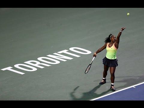 2015 Rogers Cup Quarterfinals | Serena Williams vs Roberta Vinci | WTA Highlights