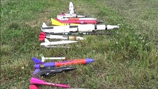 Fly-In Rocket Launch - New and Vintage Estes!!!