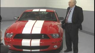 Carroll Shelby intros Shelby Mustang GT 500