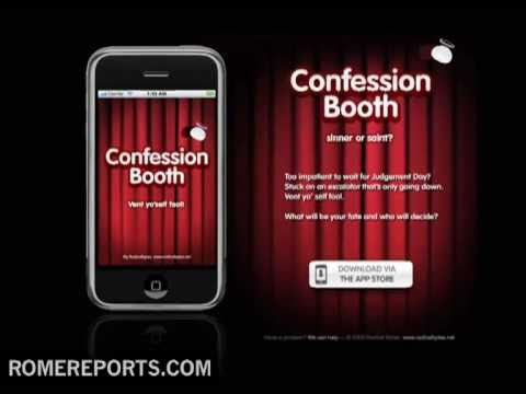 Vatican says Iphone confession app is 'no substitute' for a priest
