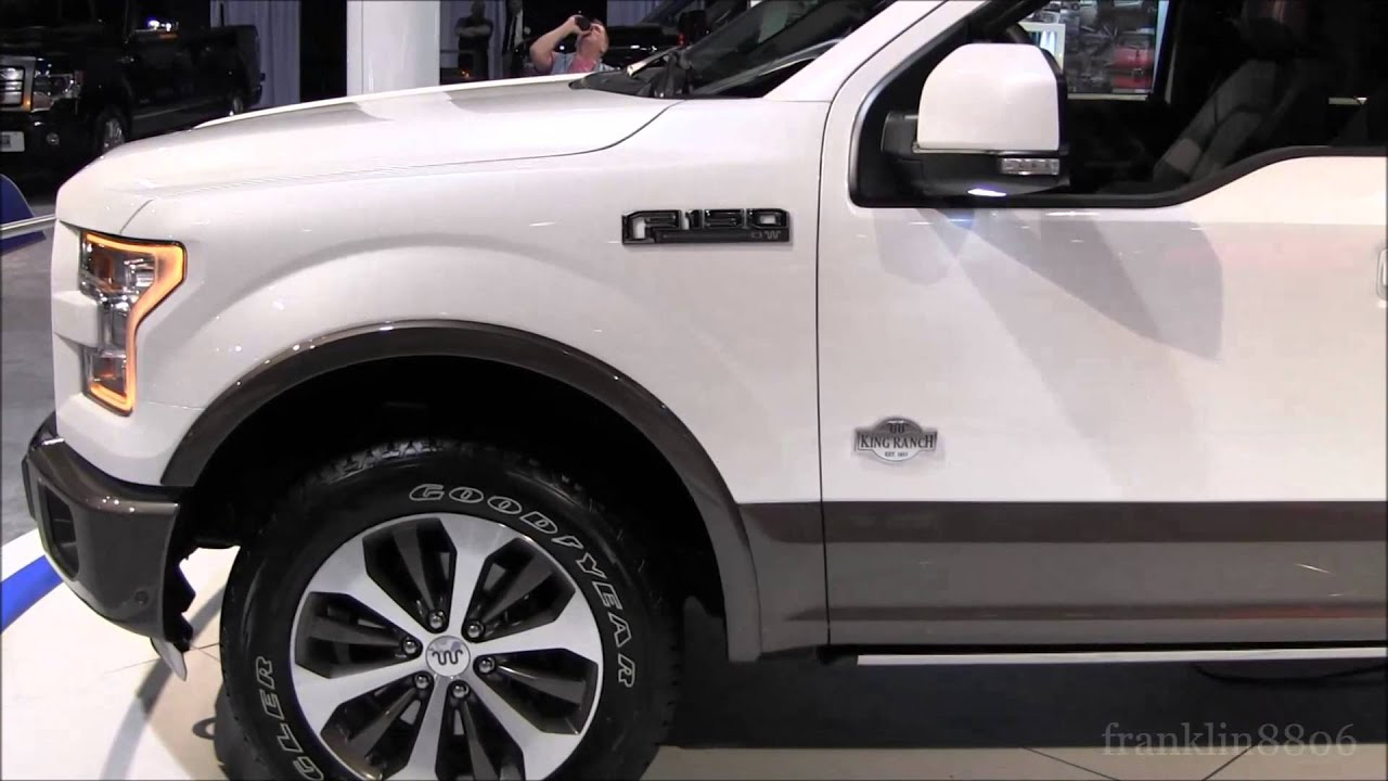 Ford F150 King Ranch >> 2015 Ford F-150 King Ranch Walkaround - YouTube