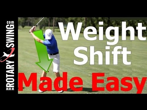 Golf Swing Lesson: Weight Shift (Transfer) Made Easy (Golf s #1 Lag Instructor)