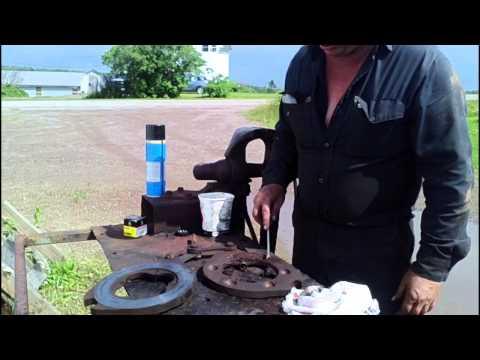 MF 165 Brake Repair