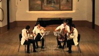 Shanghai Quartet, Ravel String Quartet in F Major, Movt. 3