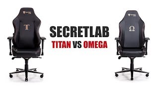 Secretlab Titan vs Omega:  Which Chair is Right for You?