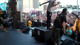 Suicide Silence Wake Up Ventura CA 6/27/2010 [HD]