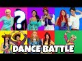 DISNEY PRINCESS DANCE BATTLE PRETEND PLAY (Who is Elsa's Dance Partner?) Totally TV