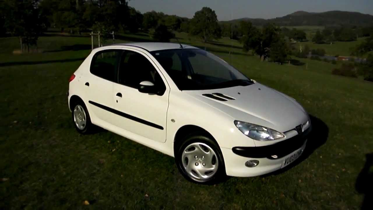2003 peugeot 206 1 4 hdi lx 5 door youtube. Black Bedroom Furniture Sets. Home Design Ideas