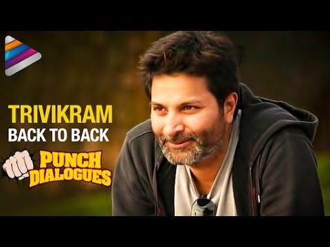 Trivikram Dialogues Collection   Back to Back Punch Dialogues   Telugu Filmnagar