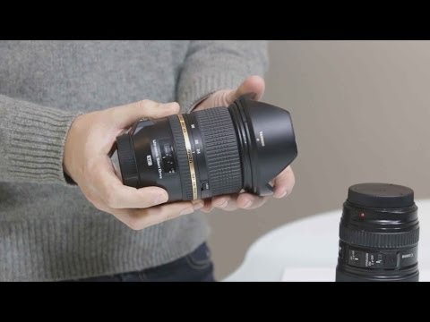 Tamron 24-70 f/2.8 vs. Canon 24-105 f/4 review: Canon walking around lens shootout!