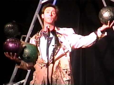 Tim St. John The Rock-N-Roll Juggler San Antonio Texas