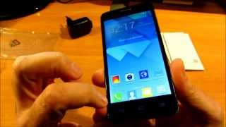 Unboxing y puesta en marcha del Alcatel One Touch Idol Mini