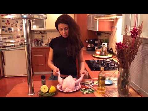 Курица целиком/вкусная курица/рецепт курицы/перец гриль/
