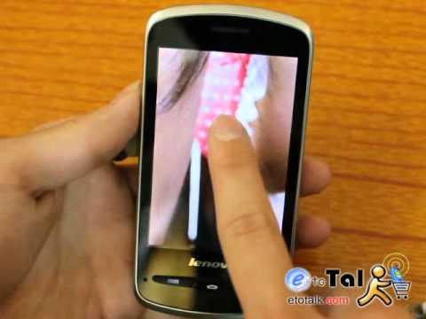 Etotalk.com Lenovo A65 Multi-language Dual Sim 3G WCDMA CPU 800MHz ...