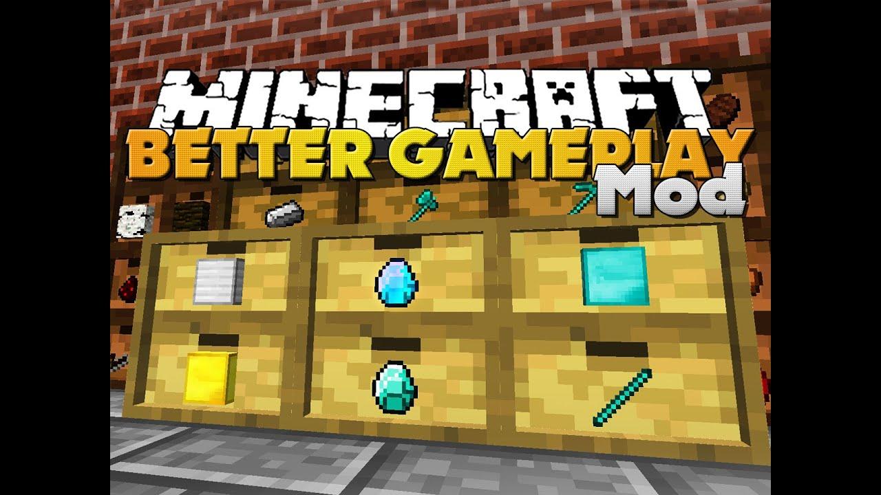 Minecraft Better Gameplay
