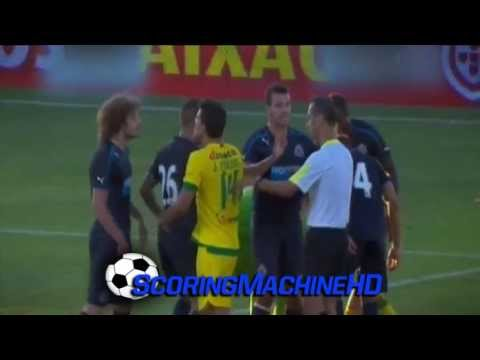 Coloccini vs. Caetano - Pa�os de Ferreira vs. Newcastle (Friendly Game - 23.07.13)