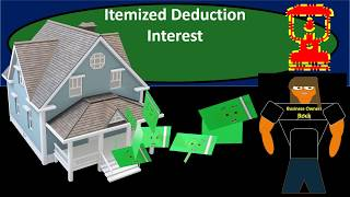 Interest Payments - Itemized Deduction Interest - Federal Income Tax 2018 2019