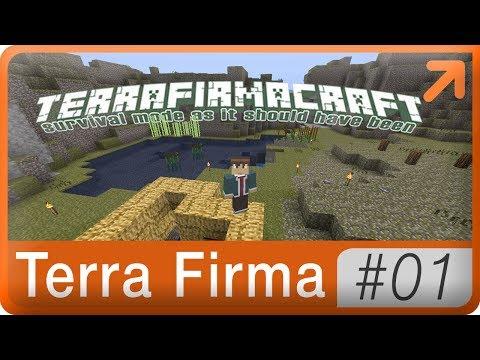 Новый летсплей → TerraFirmaCraft 01 (туториал для новичков)